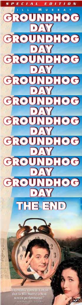 Ronseal Groundhog Day