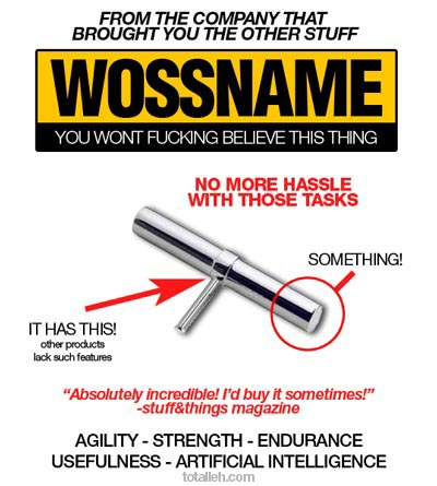 Useless products: The Wossname